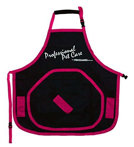 Groomers Apron Deluxe Petite (Red) by Proguard ()