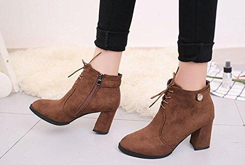 Satin Tip The spessore Boots Khskx Nude con di Short e vento 7 scarpe col 37 Donna Martin il colori centimetri tacco alto suoi New 5 gwqxqE0d