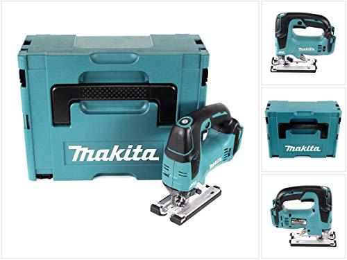Makita DJV 182 ZJ – Sierra de calar péndulo (18 V, sin escobillas, incluye Makpac, sin batería, sin cargador)