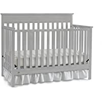 Fisher-Price Newbury 4-in-1 Convertible Crib (Misty Grey)
