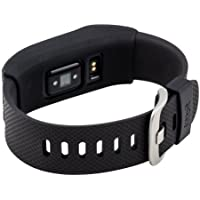 Silicone cover cases for Fitbit Charge/Fitbit HR Charge -Slim Designer Sleeve band cover (black)