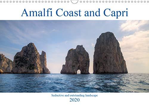 Amalfi Coast and Capri 2020: The Amalfi Coast and the island Capri are thought to be one of the most beautiful Mediterranean regions. (Calvendo Places) by Joana Kruse