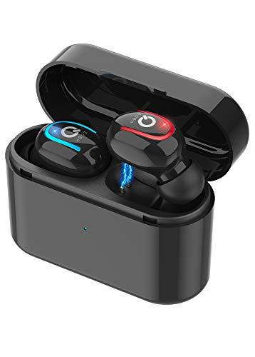 Bluetooth Headphones Earphones Wireless Earbuds TWS with Charging Case