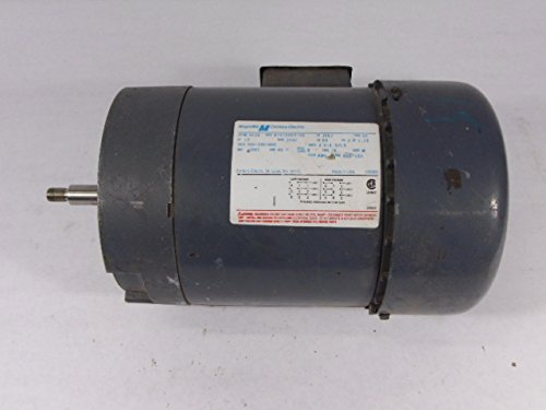 Magnetek H516 Pump Motor J56J Frame 3Ph 3450RPM 1HP 200-230/460V