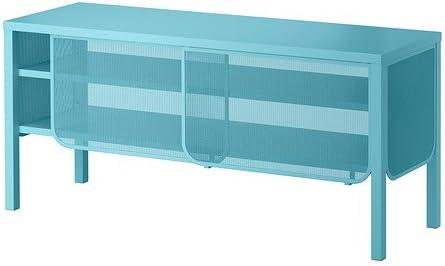 Ikea NITTORP - Mueble TV, Turquesa - 122x55 cm: Amazon.es: Hogar