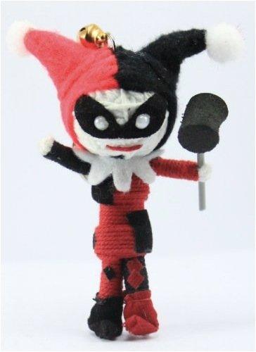 Amazon.com: Harley Quinn Cadena Llavero con muñeca: Toys & Games