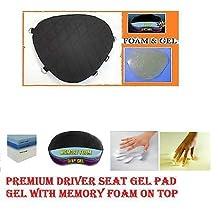 Motorcycle Gel Pad Driver Seat Cushion for Harley Davidson FXSTD Softail Deuce