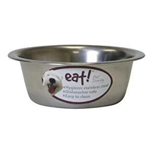 OurPets Basic Stainless Steel Dog Bowl, 1/2 Pint 41