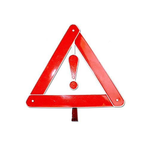 anyilon Car Auto Reflective Warning Board Stop Vehicle Danger Emergency Foldable Tripod Roadway Parking Safety Triangle Sign