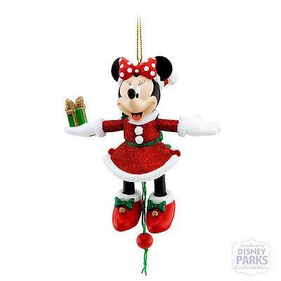 Disney Parks Mrs. Clause Minnie Mouse Puppet Ornament