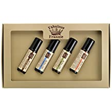 Roll On - Wellness Kit - All Natural ingredients and 100% Pure Essential oils - This Kit includes Aches & Pains, Boo Boo, Cold & Flu, and Protect (Thieves) Roll-Ons