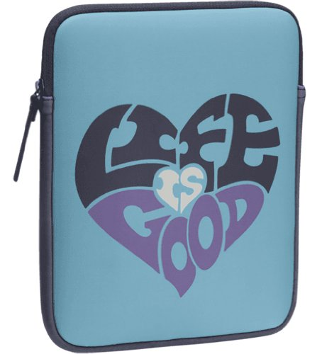 Life is good LIG Heart Tablet Jacket (Surfer Blue), One Size