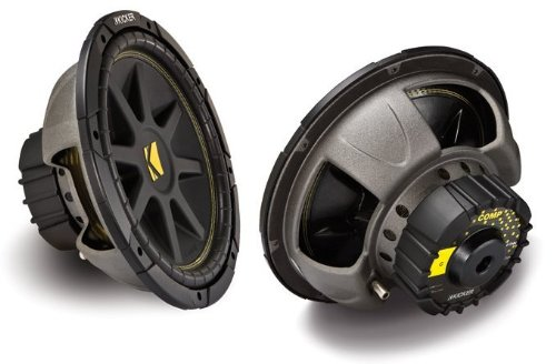Kicker 12-Inch 300W Power Car Audio Subwoofers Subs C124, Pair | 10C124