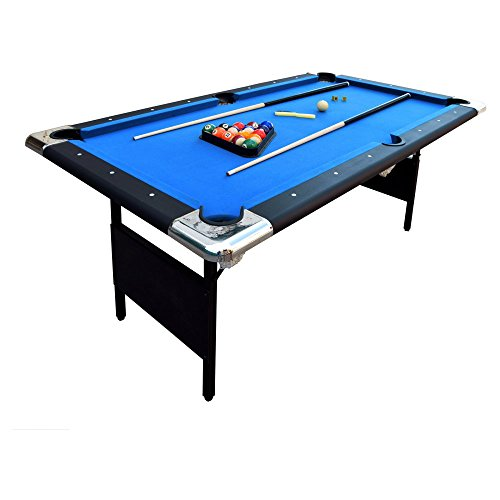 Best Review Of Hathaway Fairmont 6 ft. Portable Pool Table