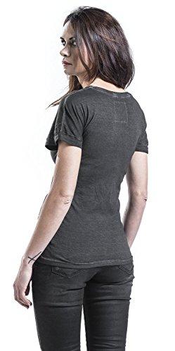 RED by EMP T-Shirt Basique T-Shirt Femme Gris Foncé L