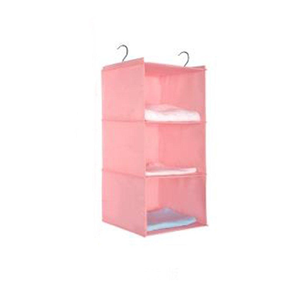 30 30cm Aikesi Aufbewahrungs-H/ängetasche aus Baumwolle Ablagefach mit Taschen Wandgarderobe Size 60 Pink
