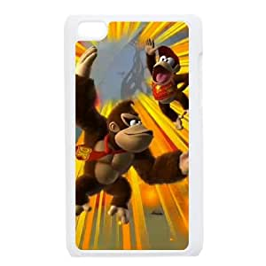 iPod Touch 4 Case White Donkey Kong Country Tropical Freeze J7N3SB