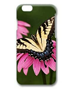 iPhone 6 Plus Case,PC Hard Shell 3D Cover Case for iPhone 6 Plus(5.5Inch) Butterfly-2 by Sallylotus by runtopwell