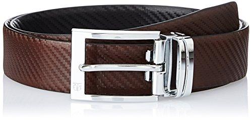 Titan Black and Leather Men's Reversible TB165LM1R2L Belt Brown Formal rtPRrqnBW