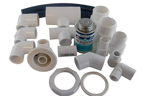 Jacuzzi BMH repair kit with flex glue white HC31940 with dvd tutorial (Whirlpool Bathtub For Jet)