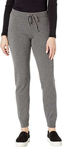 Juicy Couture Women's Sweater Cashmere Zuma Pants Worsted Grey Cashmere Large 30.5