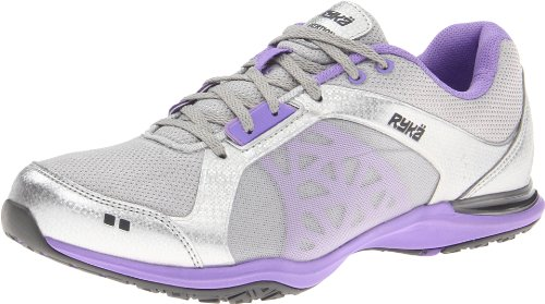Ryka Women's Exertion, Light Purple/Dark Grey, 7 M US
