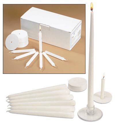 Church Vigil Devotional Unscented 1/2 x 4 1/4 Inch White