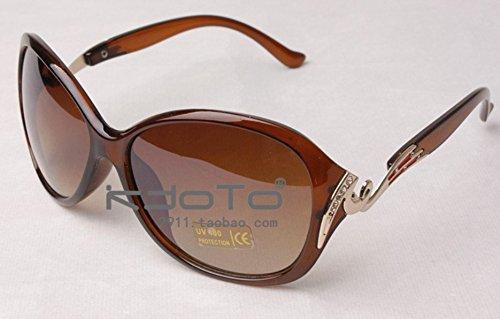 365Cor(TM)Women's Elegant Sunglasses Fashion Gradient Sunglass Metal Crystal Decoration Sun Glasses For Women Sun Eyewear Brand Designer99