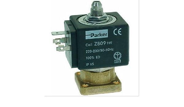 Nuova SIMONELLI 041000173 forma válvula de solenoide Parker 230 V 50/60Hz: Amazon.es: Hogar