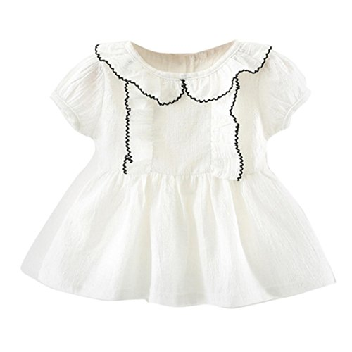 Doric Baby Toddler Girls Short Sleeve Summer Cute Clothes Party Princess (Dresses For Teenage Girls Cheap)