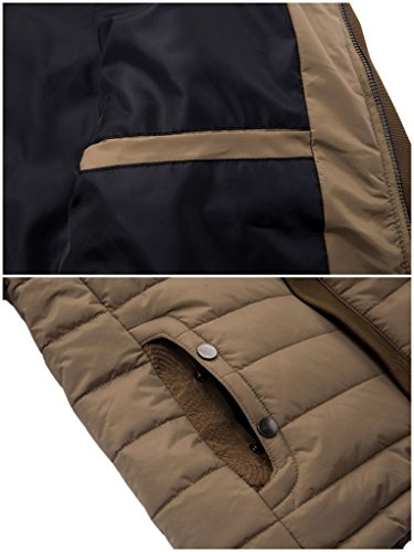 Warm Cream Men's Winter Collar Jacket ZSHOW Coat Puffer BASHOqqwx1