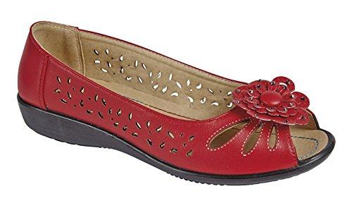 mujer Rojo TreePeru baja zapatilla rojo Shoe YqwPvtP