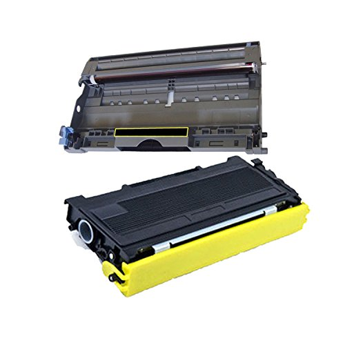 Compatible TN350 + DR350 Toner and Drum Cartridge (Black) - TN 2500 DR 130000 yield - Black - - Fax Drum Yield