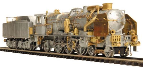 MTH O Scale Engineering Edition 2-3-1 Pacific Steam Engine Car Model #20-3383-1