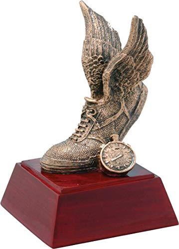 Trophy Crunch Track & Field School Gift & Award - Free Custom Engraving (Coach Trophy)