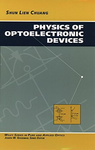 Physics Of Optoelectronic Devices  Wiley Series In Pure And Applied Optics