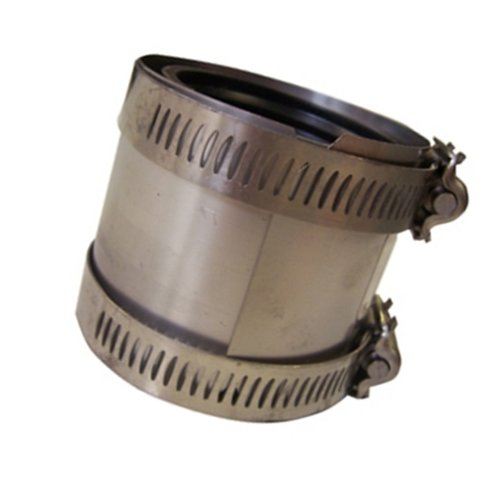(Mission Rubber 300133 CK 33 Band-Seal Specialty Coupling, 3-Inch Cast-Iron to 3-Inch)
