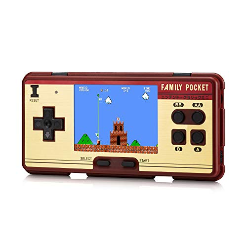 WZNANA Retro Handheld Game Console, Retro classic Video Game Console 3.0 Inch Screen 638 Classic Games ,Can connect to TV play.