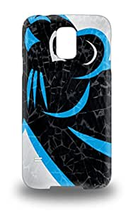 Slim Fit Tpu Protector Shock Absorbent Bumper NFL Carolina Panthers Logo 3D PC Case For Galaxy S5 ( Custom Picture iPhone 6, iPhone 6 PLUS, iPhone 5, iPhone 5S, iPhone 5C, iPhone 4, iPhone 4S,Galaxy S6,Galaxy S5,Galaxy S4,Galaxy S3,Note 3,iPad Mini-Mini 2,iPad Air )