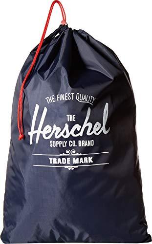 Herschel Laundry Bag, Navy/Red