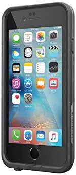 Lifeproof FRĒ SERIES iPhone 6/6s Waterproof Case - Retail Packaging - BLACK