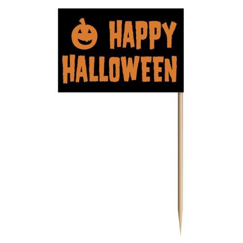 Happy Halloween Picks 50 Pkg