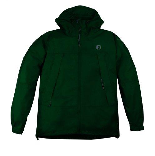 Red Ledge Men's Thunderlight Parka Rain Jacket,Emerald,XX-Large