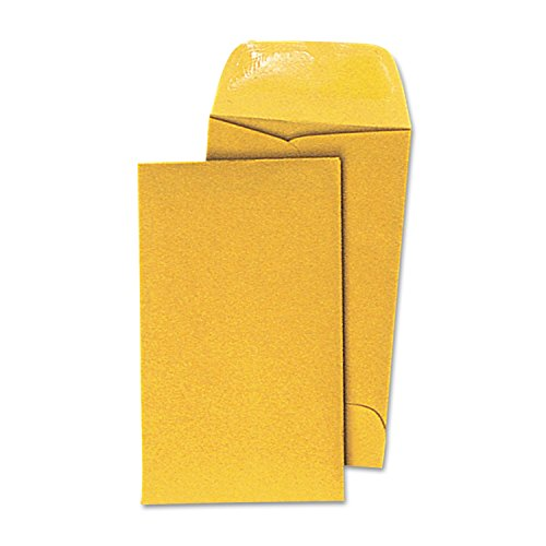 - - Kraft Coin Envelope, #3, Light Brown, 500/Box