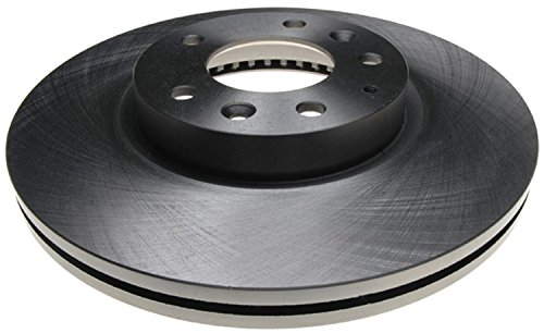 ACDelco 18A2351A Advantage Non-Coated Front Disc Brake Rotor