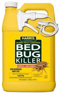 P F Harris Mfg HBB-128 Bed Bug Killer, 1-Gal. - Quantity 4 by P F Harris Mfg