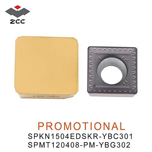 (FINCOS 10pcs/lot promotional tungsten carbide inserts SPKN 1504EDSKR SPMT 120408 milling inserts for milling cutter FME03 HMP01 - (Angle: SPKN1504EDSKR-YBC301))