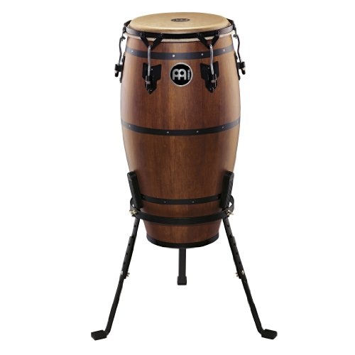 Meinl Percussion HTC12WB-M Headliner Traditional Designer Series 12-Inch Conga With Basket Stand, Walnut Brown (Traditional Series Conga)