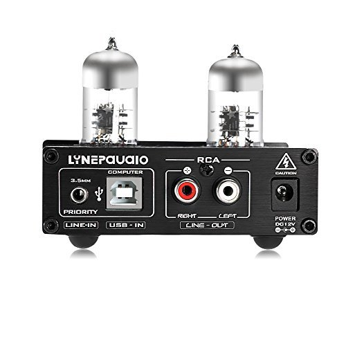 nobsound linepaudio 6j9 hifi vacuum tube power headphone amplifier usb asio sound card preamp. Black Bedroom Furniture Sets. Home Design Ideas