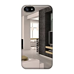 BestSellerWen For Iphone 5/5S Phone Case Cover Well-designed Hard Lovely Modern Room Design Protector